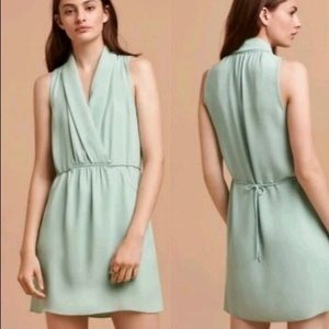 Aritzia Wilfred Sabine dress tunic green XXS